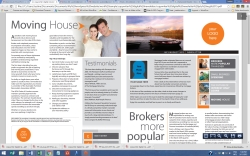 copywriting digital newsletter moving house