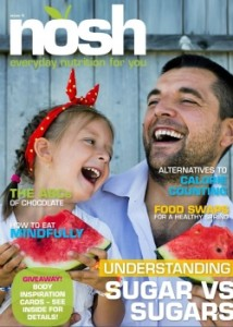 proofreading issue 5 Nosh magazine